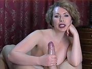 Compile second the best wifey handjob semen in the world 8