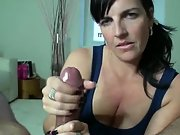 Handsome homemade jerks a giant dick nice & slowly